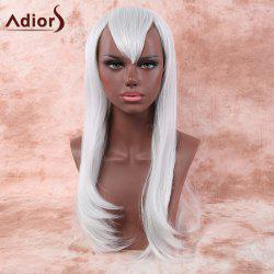 Faddish Long Layered Tail Adduction Side Bang Cosplay Synthetic Wig