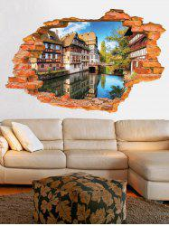 Broken Wall 3D Scenery Wall Stickers For Living Room