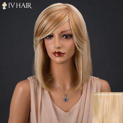 Siv Medium Side Parting Straight Human Hair Wig