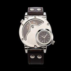 PU Leather Wrist Quartz Watch