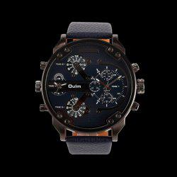 Big Dial Plate Wrist Quartz Watch