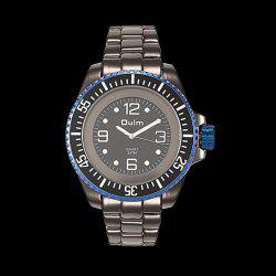 Steel Watchband Quartz Watch