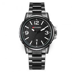Waterproof Date Analog Quartz Watch
