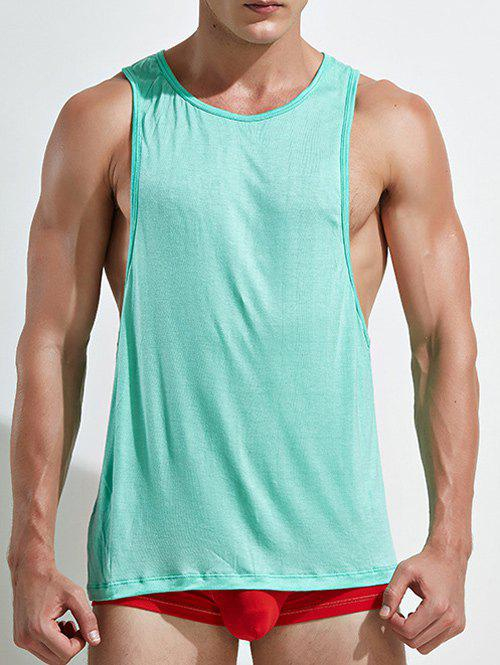 2f160016af06f5 40% OFF   2019 Racerback Open Side Plain Tank Top