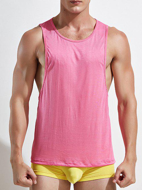 13e6e373c95372 68% OFF   2019 Racerback Open Side Plain Tank Top