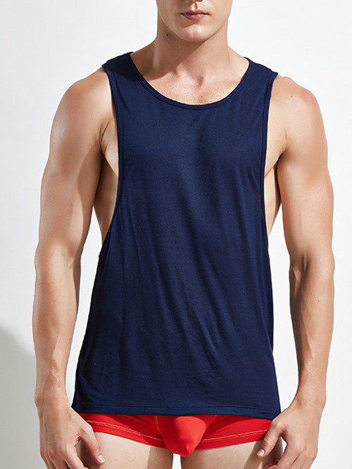 3aba42bf9f11e4 28% OFF   2019 Racerback Open Side Plain Tank Top