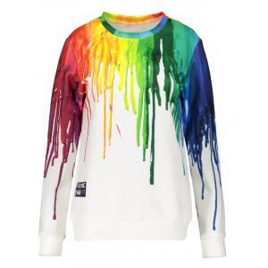 3D Splatter Paint Sweatshirt