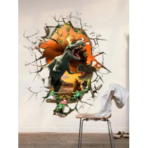 3D Dinosaur Wall Stickers Living Room Decoration