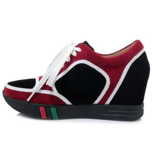 Hidden Wedge Colour Block Athletic Shoes -