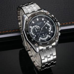 Waterproof Metal Tachymeter Watch -