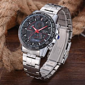 Multifunction Waterproof Metal Tachymeter Watch -