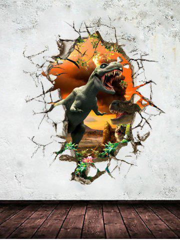 Hot 3D Dinosaur Wall Stickers Living Room Decoration - COLORMIX  Mobile