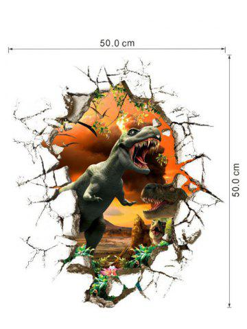 Cheap 3D Dinosaur Wall Stickers Living Room Decoration - COLORMIX  Mobile