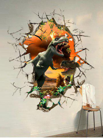 Buy 3D Dinosaur Wall Stickers Living Room Decoration - COLORMIX  Mobile