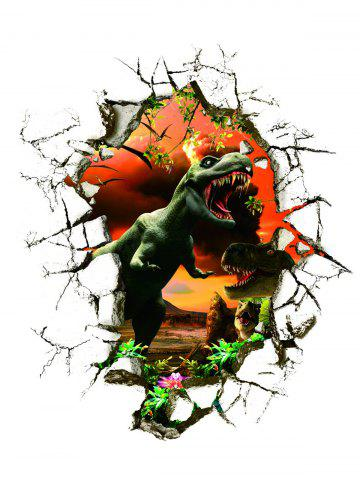 Best 3D Dinosaur Wall Stickers Living Room Decoration - COLORMIX  Mobile