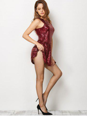 Outfits Fishnet Sheer  Pantyhose - ONE SIZE BLACK Mobile