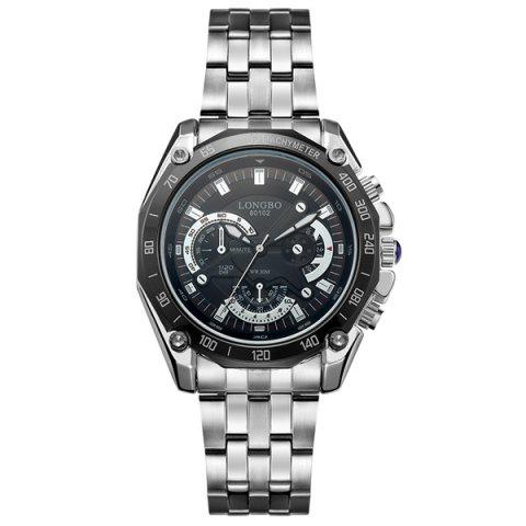 Chic Waterproof Metal Tachymeter Watch