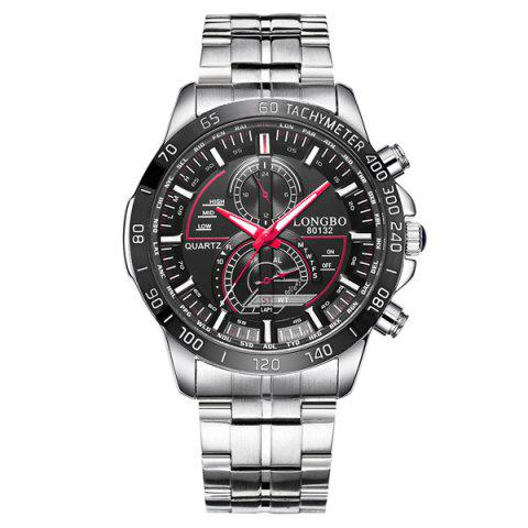 Affordable Multifunction Waterproof Metal Tachymeter Watch