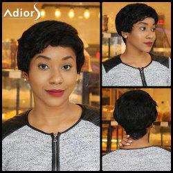 Spiffy Short Pixie Cut Capless Fluffy Curly Synthetic Wig