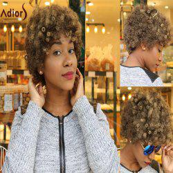 Adiors Short Afro Curly Colormix Synthetic Wig