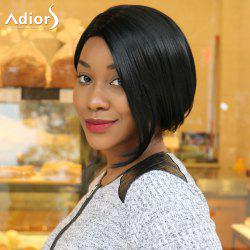 Adiors Short Bob Side Parting Straight Synthetic Wig