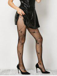 Star Pattern Fishnet Pantyhose