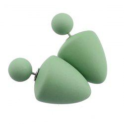 Mushroom Shape Stud Earrings