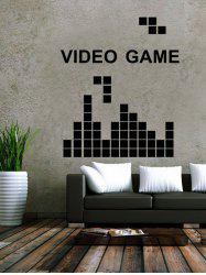 Video Game Design Removable Wall Stickers For Kids Room