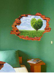 Broken Wall 3D Tree Wall Stickers For Living Room Decoration