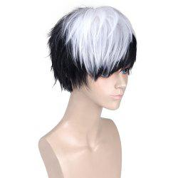 Short Side Bang Straight Synthetic Cosplay Wig