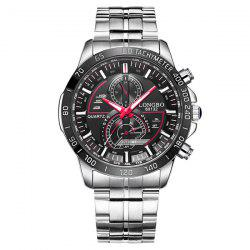 Multifunction Waterproof Metal Tachymeter Watch