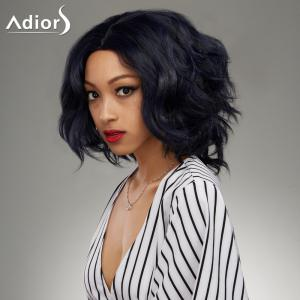 Medium Middle Parting Shaggy Wavy Synthetic Wig -