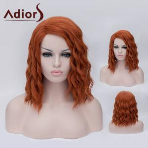 Adiors Medium Side Parting Fluffy Wavy Party Cosplay Synthetic Wig