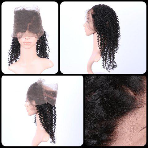 Long Curly 360   Lace Human Hair Wig