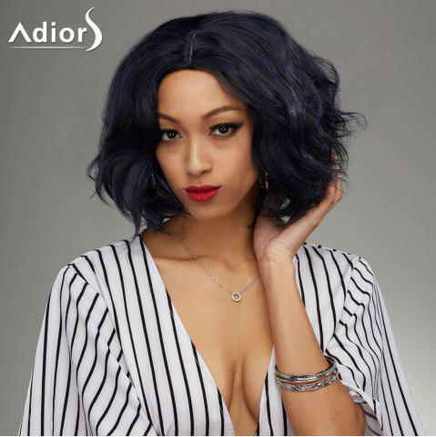 Affordable Medium Middle Parting Shaggy Wavy Synthetic Wig