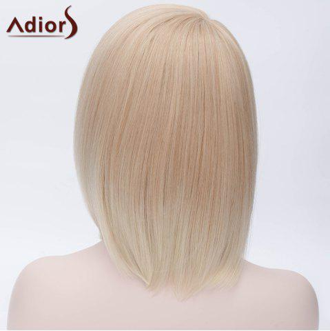 Shop Adiors Short Side Bang Silky Straight Bob Party Synthetic Wig - COLORMIX  Mobile