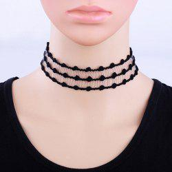 Punk Lace Choker Necklace