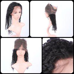 Long Deep Curly 360° Lace Human Hair Wig