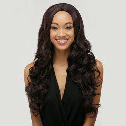 Long Middle Part Natural Wave Front Lace Human Hair Wig