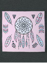 Dreamcatcher Printed Square Beach Throw