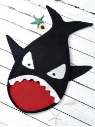 Baby Cartoon Shark Shape Blanket Throw Personalized