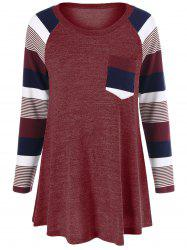 Striped Trim Knitwear