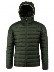 Zip Up Hooded Down Jacket ODM Designer -