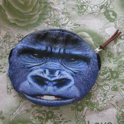 3D Orangutan Painted Coin Purse