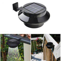 Outdoor Garden Decorative Waterproof LED Solar Courtyard Fence Lamp