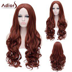 Adiors Long Middle Parting Fluffy Wavy Party Synthetic Wig