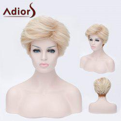 Adiors Short Layered Side Bang Silky Straight Party Synthetic Wig