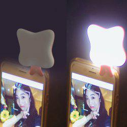 Multifunction Cartoon Mobile Power LED Light For iPhone Connector