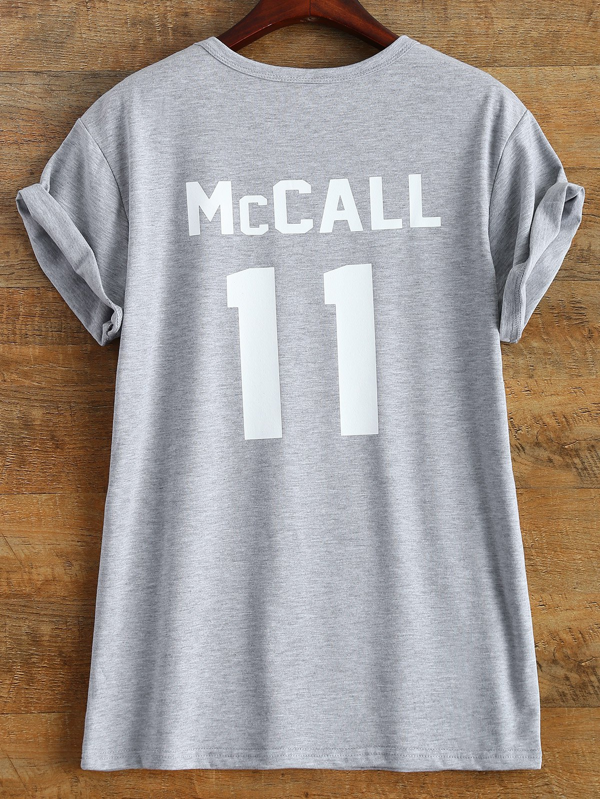 Hot Streetwear Short Sleeve McCall 11 Boyfriend Tee