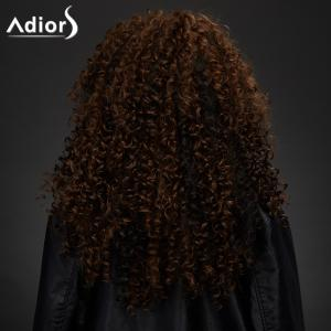 Adiors Shaggy Curly Colormix Synthetic Vogue Long Wig -